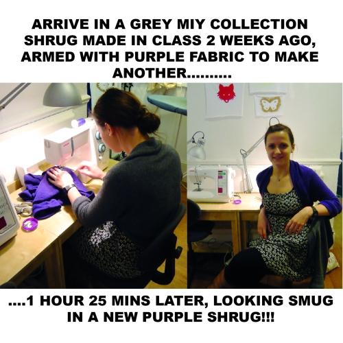 shrug sewing pattern