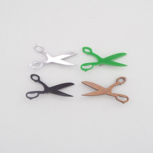 scissor badge