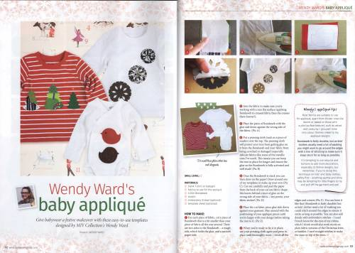 applique project love sewing magazine