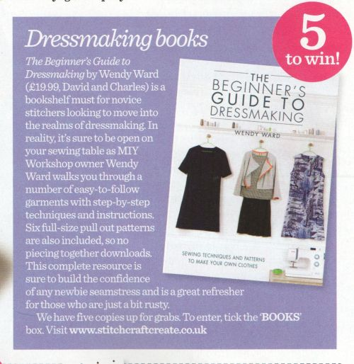 win beginners guide to dressmaking in sew magazine