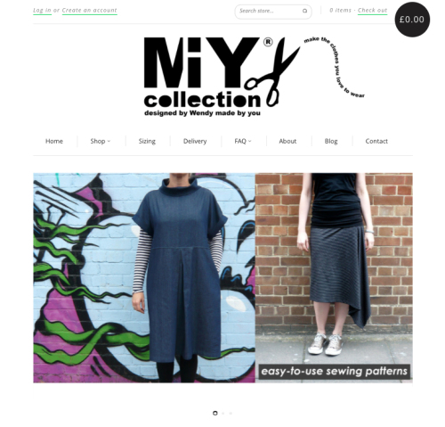 MIY Collection easy sewing patterns buy online