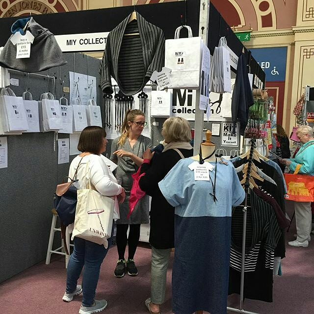 Knitting And Stitching Show Alexandra Palace 2017 : MIY Collection Tried & tested easy sewing patterns & practical tool...